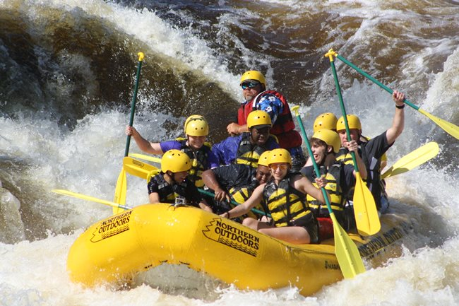 Whitewater Rafting on the Penobscot River with Northern