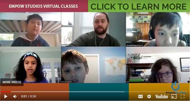 Empow Studios Virtual Classes